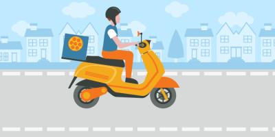 delivery online motoboy entrega em casa desejo consumidor entregador