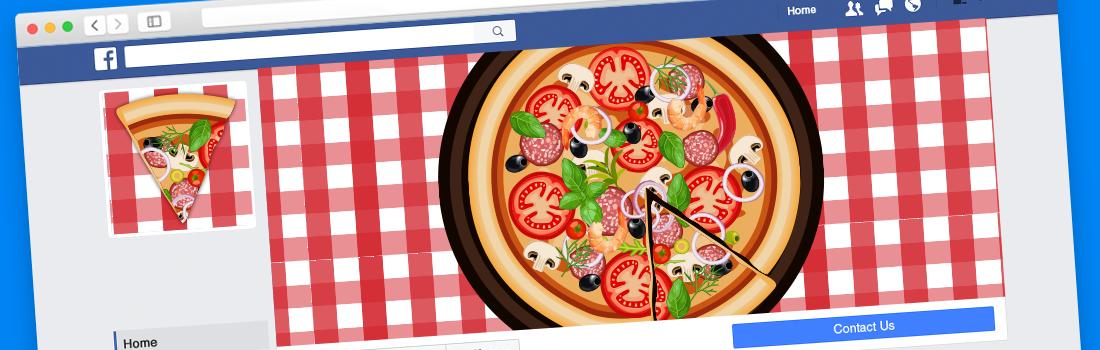 facebook para delivery sistema vitto