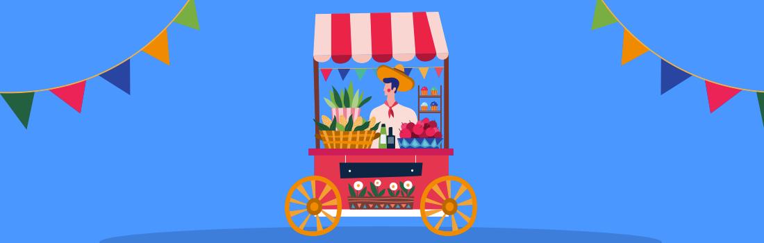 festa junina delivery sistema vitto