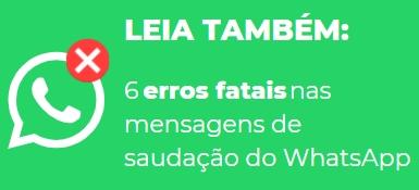 Mensagem de saudação para whatsapp de restaurante